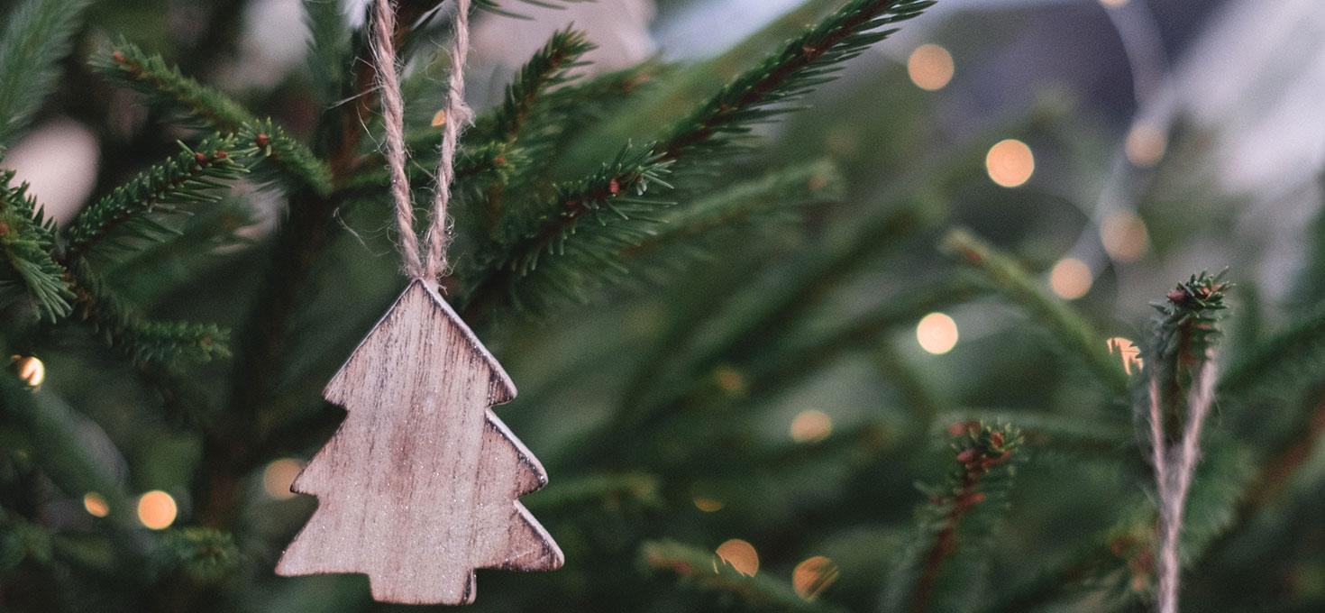Un albero di Natale sempre bello