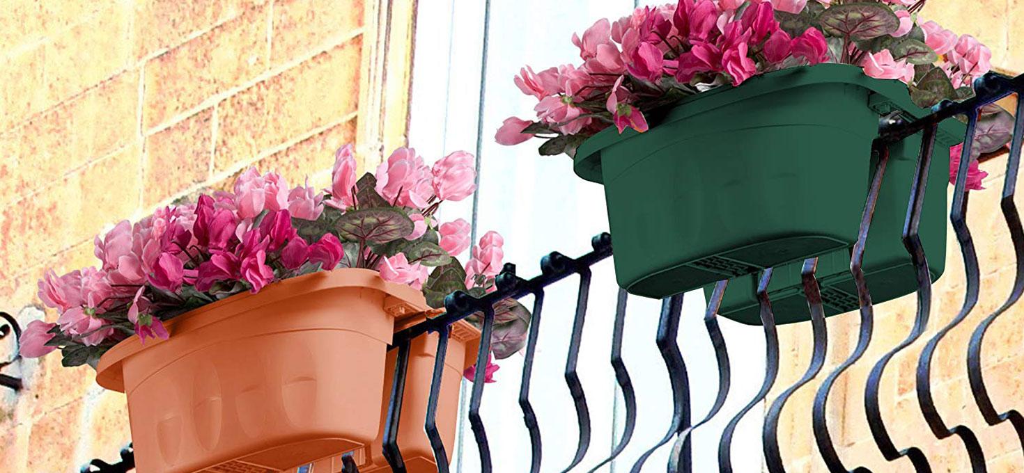 Una fioriera in casa