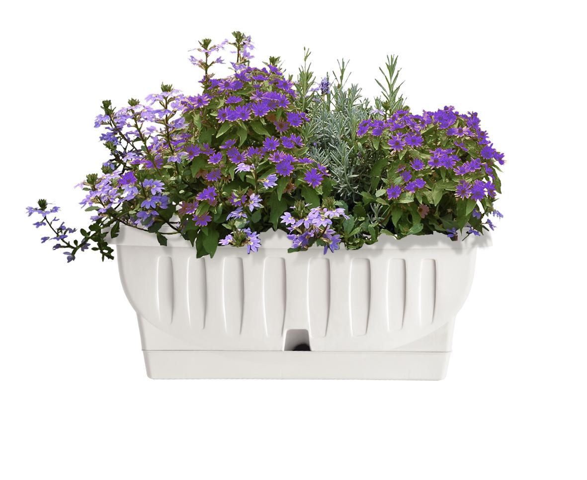 White garden vasi e fioriere per il tuo giardino for Vasi decorativi per giardino